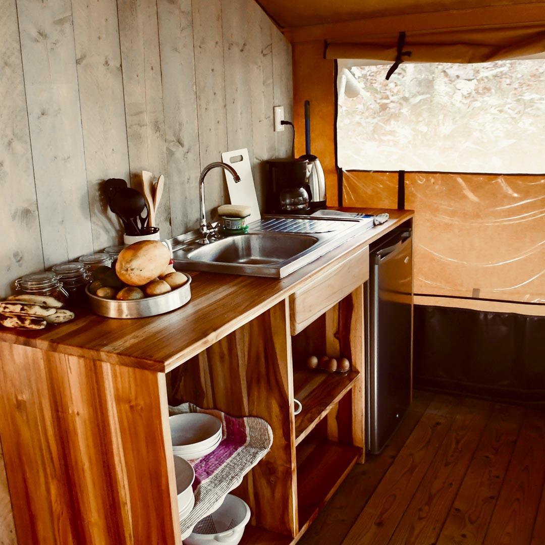 Tente AN3 - Cuisine