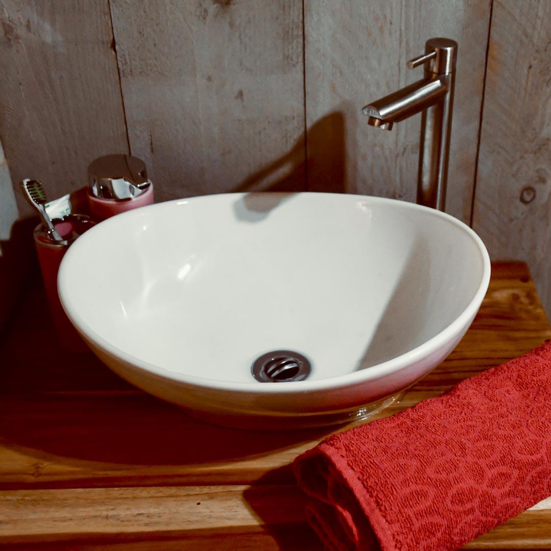 Tente AN3 - Salle de bain